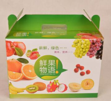 通用手提水果包装箱
