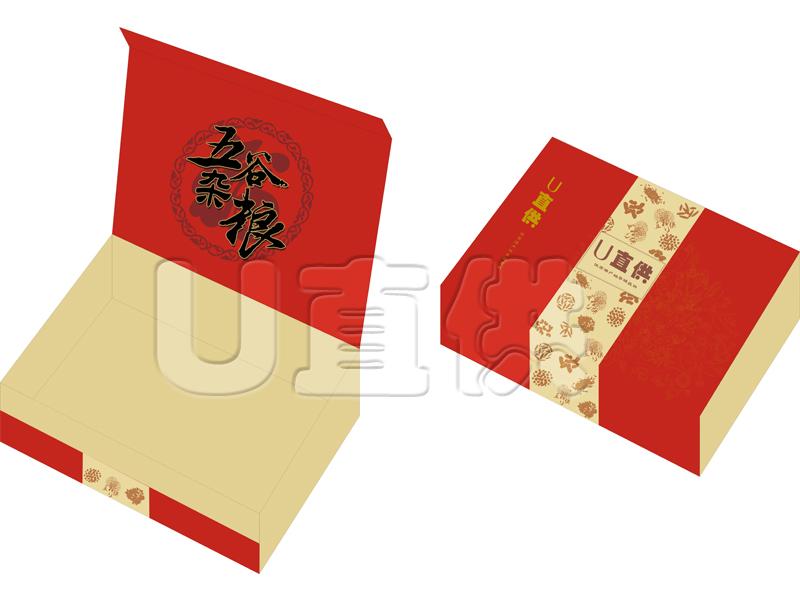 五谷杂粮礼盒包装设计
