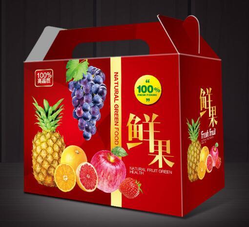 水果包装箱设计